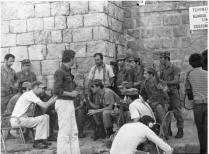 Turkish Soldiers Holding a Press Conference