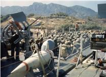 Landing of Turkish Troops