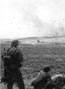 The Landing of a Turkish Parachute Brigade