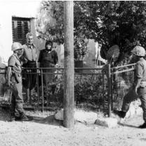 Turkish Soldiers Meeting Turkish Cypriots