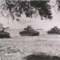 Turkish Tanks During the August Offensive