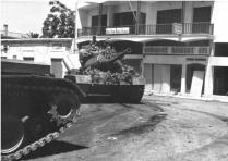 Turkish Tanks on the Streets of Keryinia