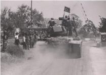 Turkish Troops Are Greeted by the Turkish Cypriots