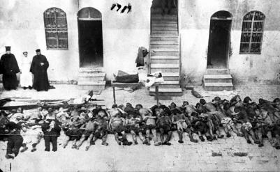 pontiac greeks genocide