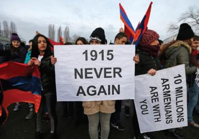 armenia never again