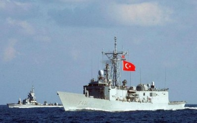 turkish warship