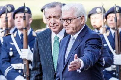 Turkish President Erdogan Visits Berlin